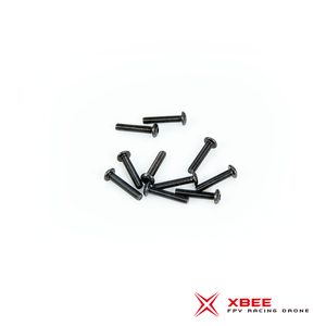 Button Head screw M3 x 15mm (SCM435 Black Oxiding)