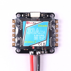 DV0004 BLHELI-S 4 IN 1 33A with 5v and 12v bec